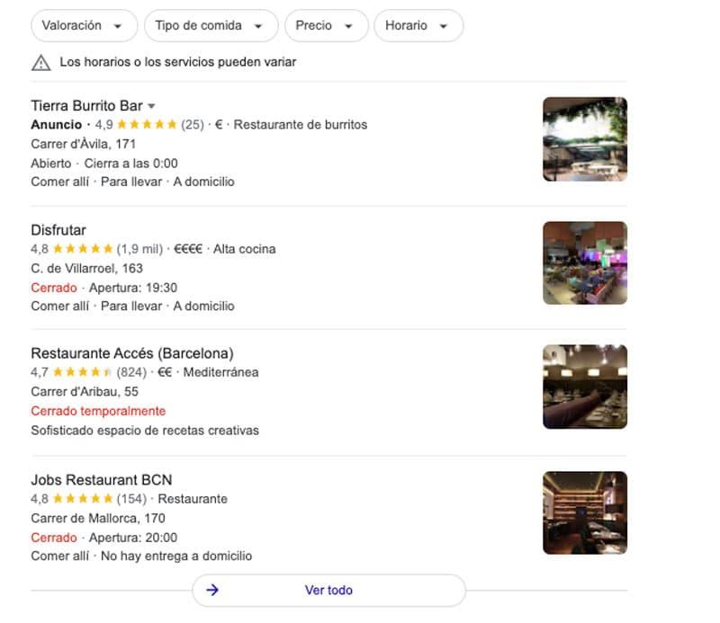 que es el seo local google my business